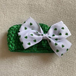 🟠FREE🟠 St Patty's Headband - Infant/Toddler
